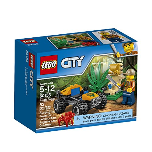 LEGO City Jungle Explorers Jungle Buggy 60156 Building Kit (53 Piece)