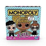 Hasbro Monopoly- Monopoly L.O.L. Surprise Gioco in Scatola, Multicolore, E7572103