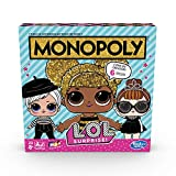Hasbro Monopoly – Jeu Monopoly L.O.L, multicolore, E7572103, version italienne
