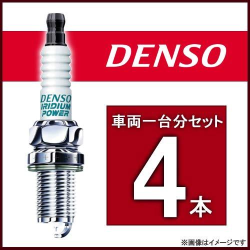 DENSO イリジウムパワー スパークプラグ FIAT 500/500C ABA-31214 H20/5~ 169A3 品番IXU22(4本)
