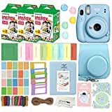 Fujifilm Instax Mini 11 Instant Camera with Case, 60 Fuji Films, Decoration Stickers, Frames, Photo...