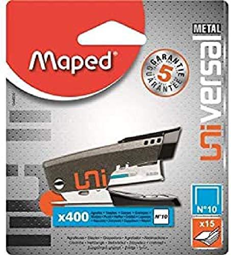 Maped Cucitrice Mini In Metallo + 400 Punti 10
