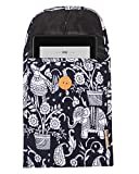 loop141 Protective 6' Sleeve Cotton quilted fabric Cover Pouch Bag for Amazon Kindle Paperwhite 2020,19,18,17,16 / Voyage/All Kindle (10th Gen, 2020) / Kindle Oasis 6-Inch E-Reader, Fire upto 7 inches Blue2