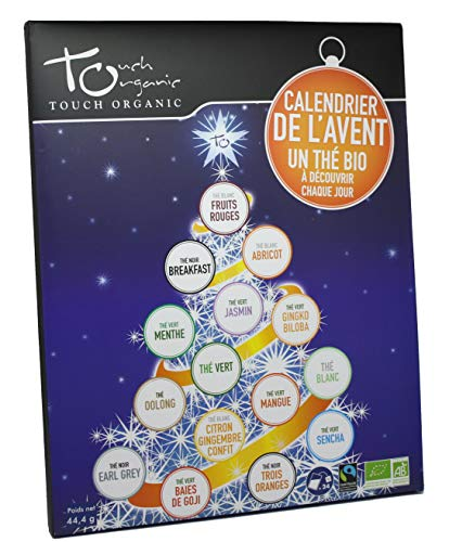 Touch Organic - Calendario dell'avvento - tè Biologico - Assortimento 24 bustine