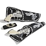 Scout Double Pistol & Holster Set, Shoots Roll Caps, Boxed