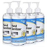 Superfy Hand Sanitizer, Moisturizing Gel Hand Wash with...