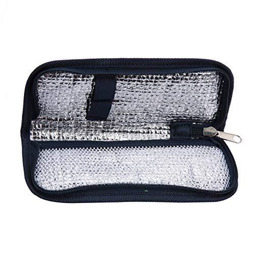 Caso Insulina - Insulina Raffreddare Borsa, Portatile in Tessuto Oxford Insulina Protector Bag...