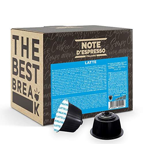 Note d'Espresso - Leche - Cápsulas compatibles con Cafetera