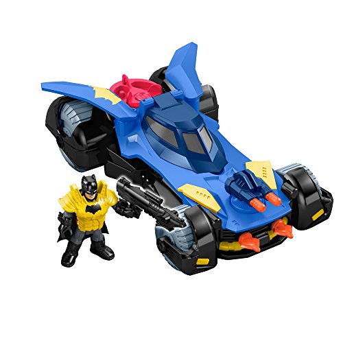 Imaginext Liga Da Justiça Dc Super Batmóvel Mattel Multicor Multicor