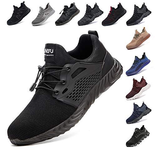 Zapatos De Seguridad para Hombre con Puntera De Acero Mujer...