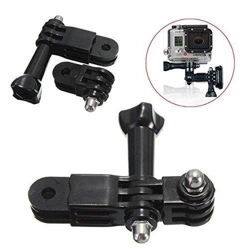 Generic dyhp-a10-code-4477-class-1-- Hero era per fotocamera GoPro W per 3vie Pivot Arm Extension a T Link Casco Mount + Exten vite Pivot a–-dyhp-uk10–160819–2648