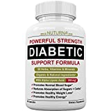 Diabetic Support Formula - 28 Vitamins Minerals & Herbs with 300 mg Alpha Lipoic Acid for Blood Sugar Support & Extra Energy Support - Diabetes Supplement for Men & Women