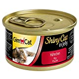 GimCat ShinyCat in Jelly Poulet – Nourriture humide pour chats...