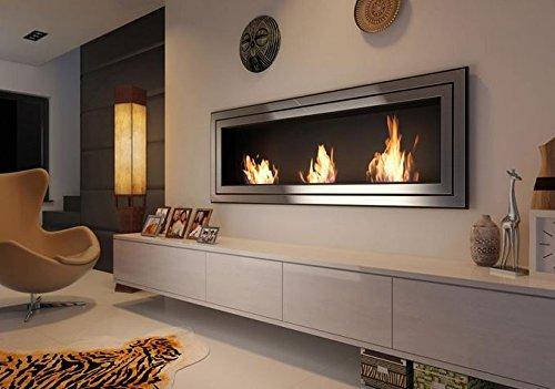 Bio-Ethanol Bio-Fireplace 1800 mm x 650 mm