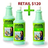 Bio Clean: Eco Friendly Hard Water Stain Spot Mildew Lime Calcium Soap Scum Remover (40 Ounce)
