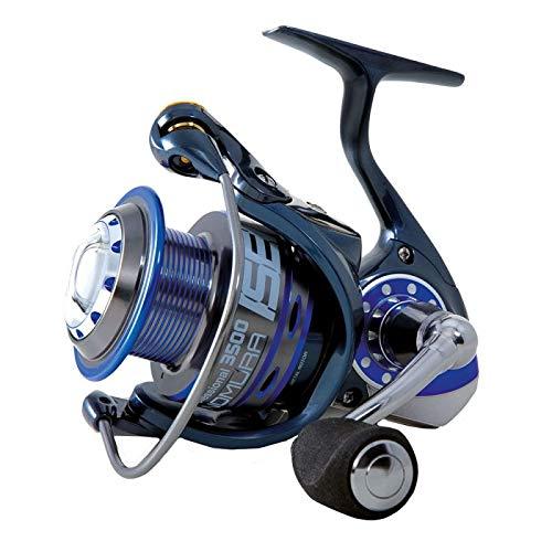 NOMURA Mulinello da Pesca Isei Professional 2500 con Frizione Anteriore Precisa e Potente da Spinning Bolognese Feeder Fondo Mare Trota Lago Leggero e Affidabile
