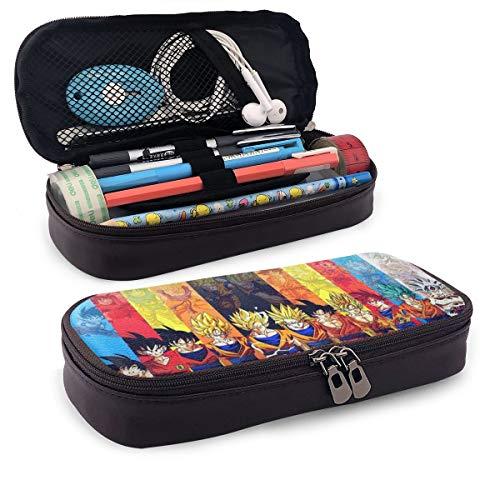 Dragon Ball Z Goku - Astuccio per matite, grande capacit, astuccio portapenne, con scomparti multipli per ragazzi e ragazze