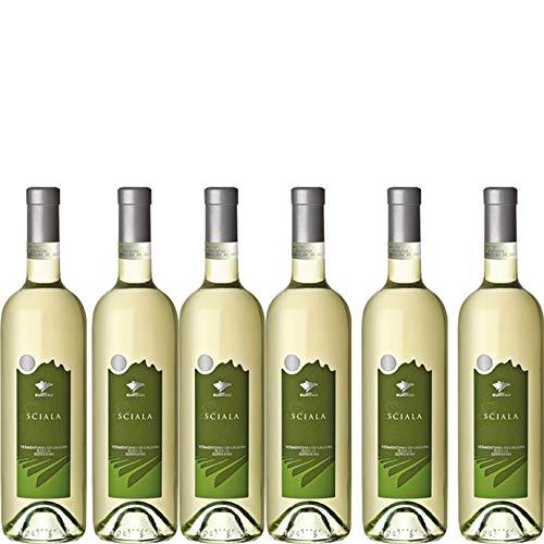 6 bottiglie per 0,75 l -SCIALA - VERMENTINO DI GALLURA DOCG