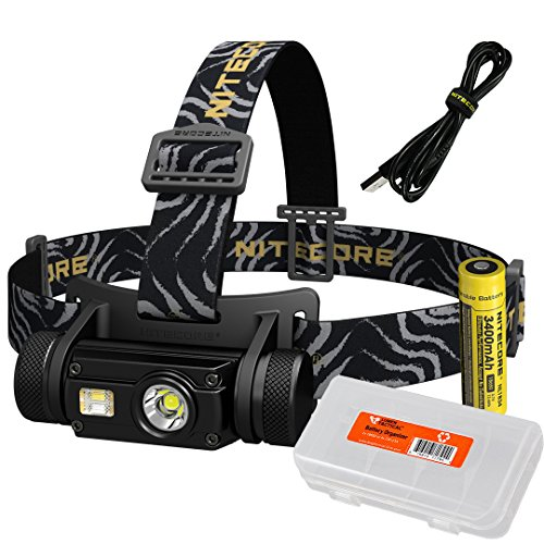 Nitecore HC65 1000 Lumen USB Rechargeable Headlamp
