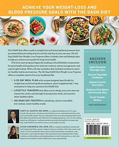 The 28 Day DASH Diet Weight Loss Program: Recipes and Workouts to Lower Blood Pressure and Improve Your Health 6