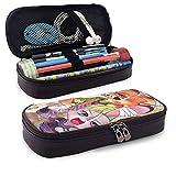 Zoot-O-Pia - Estuche para lápices (tamaño grande, con cremallera, bolsa de maquillaje, para adolescentes