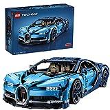 LEGO- Bugatti Chiron, Voiture de Sport Réplique Exclusive Numéro de Série...