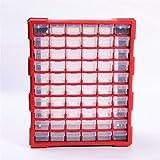 Multi USA la Caja de Herramientas fácil de Usar Maletín for Herramientas Caja de Herramientas de Piezas Clasificación Caja de Arca Multi-Rejilla del cajón Tornillo Tipo de Caja de Comp