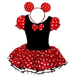 Lito Angels Fille Princesse Minnie Robe Ballet Tutu Costume Déguisement...