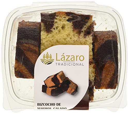 Lázaro Bizcocho Marmol Calado 350 g (Bizcocho Artesanal Marmolado Borracho con Almibar)