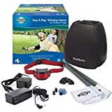PetSafe Stay & Play Wireless Fence for Stubborn Dogs – Above Ground Electric Pet Fence – from...
