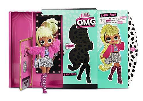 Image 6 - MGA- Poupée-Mannequin L.O.L O.M.G. Lady Diva avec 20 Surprises Toy, 560562, Multicolore