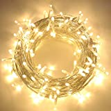 82FT 200 LED Christmas String Lights, Super Bright Outdoor Lights with 8 Lighting Modes, Waterproof...