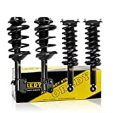 OREDY Struts Full Set of 4PCS Front Rear Shocks and Struts 11853 11854 15870 Coil Springs Complete Shocks Struts Assembly Compatible with Outback 2000 2001 2002 2003 2004 (Non Electronic Suspension)
