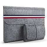 HOMIEE 13.3 Pouces Housse protectrice en Feutre pour Ultra-Mince MacBook Pro...