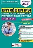 Entrée en IFSI pour les AS-AP et formation professionnelle continue (FPC) -...