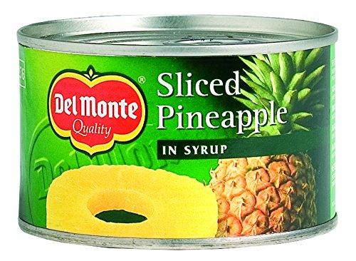 Del Monte - Fette di ananas in sciroppo, 234 g (confezione da 12)