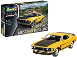 Revell 07025Maquette de Voiture à Construire Boss 302 Mustang, échelle 1/25,...