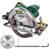 TECCPO Professional Scie Circulaire Électrique 1200W...