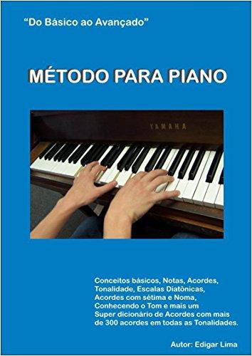 Método para piano: do básico ao avançado