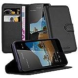 Cadorabo Coque pour Nokia Lumia 550 en Noir DE Jais - Housse Protection...