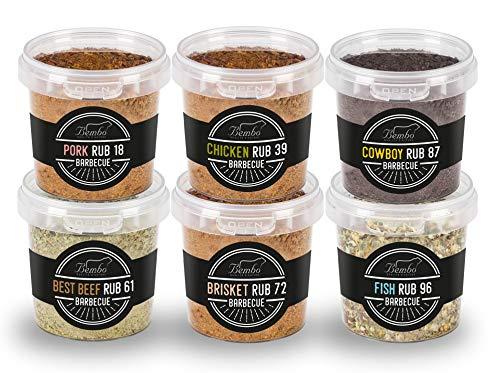 BBQ Rub - Starter Pack - Miscele di Spezie per Barbecue e Marinatura - Bembo Spices & Rub