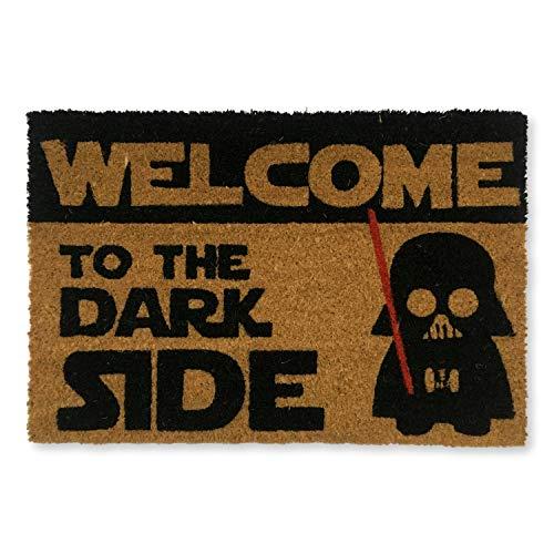 koko doormats felpudos Entrada casa Originales, Fibra de Coco y PVC, Felpudo Exterior Welcome TO The...