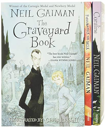 Neil Gaiman/Chris Riddell 3-Book Box Set: Coraline; The...