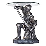 Design Toscano Battle-worthy Knight Sculptural Table