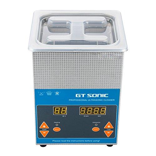 FLOUREON 2L Ultraschallreiniger Ultraschallreinigungsgerät Ultraschall Gerät Reiniger Reinigungsgerät Ultraschallbad mit Korb