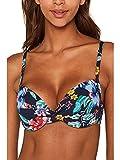 ESPRIT Damen Jasmine Beach n.Push up mf Bikinioberteil, Blau (Ink 415), 85B(Herstellergröße: 42 B)