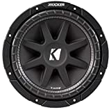 Kicker 43C124 12' 300W 4-Ohm COMP Series Car Audio Sub Subwoofer C12