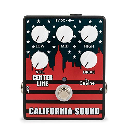 Caline CP-57 Overdrive Guitar Effect, California Sound.