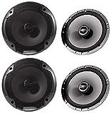 (2) Pairs Alpine Spe-6000 6.5' 2 Way Pair of Car Speakers Totalling 960 Watts Peak / 240 Watts RMS