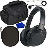 Sony Noise Cancelling Wireless Over-Ear Headphones WH-1000XM3 WH1000XM3 with Essential Must-Have...